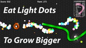 slitherio eat dots