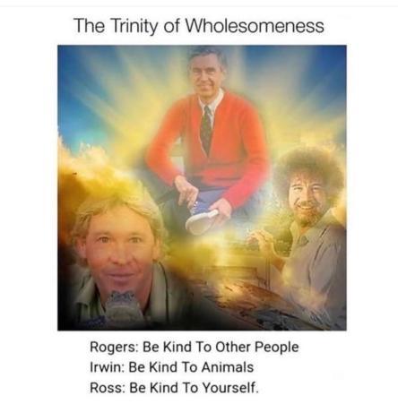 trinity of wholesomeness